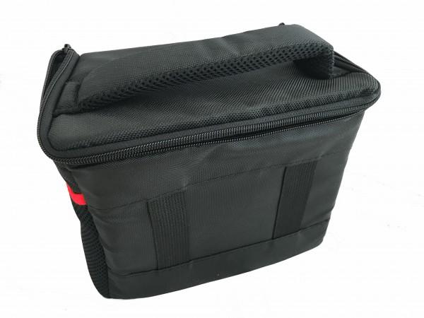Tasche schwarz rot f. Fuji FinePix SL260